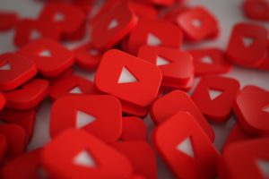 Youtube Play Button haufen 3d Modell