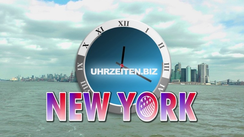 Uhrzeit New York City USA