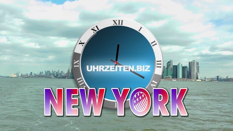 Uhrzeit New York City USA