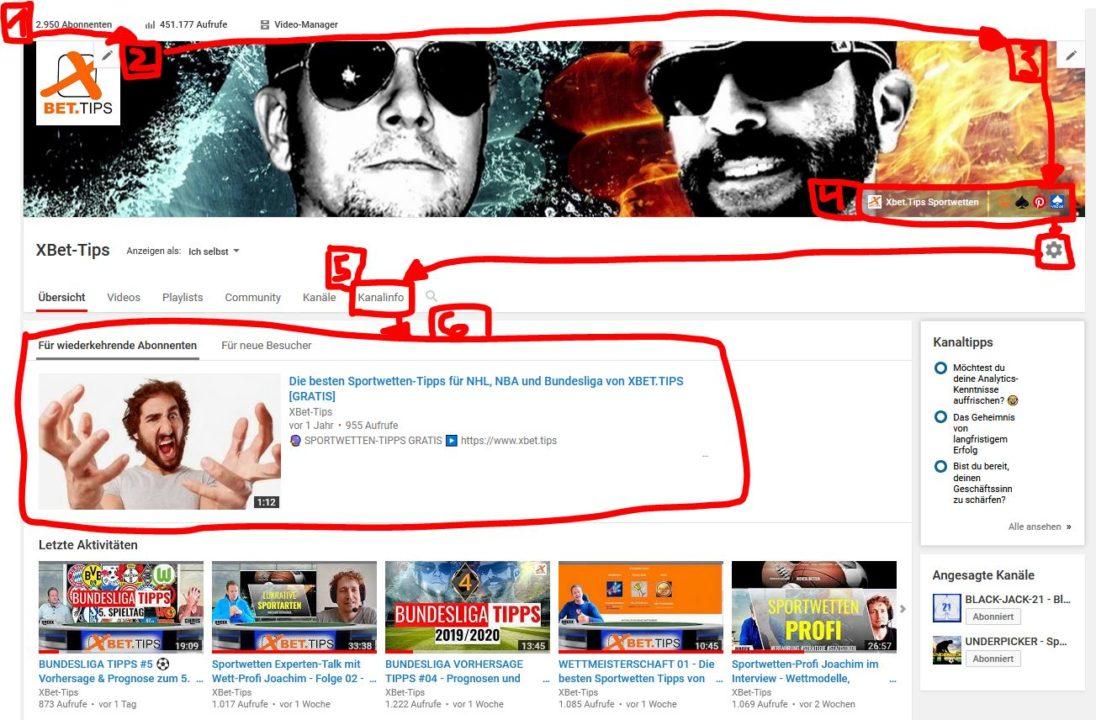 Youtube Kanal Xbet-Tips