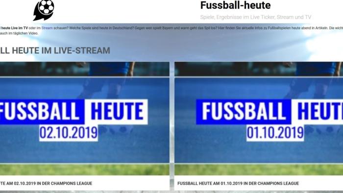 Fussball heute Insights