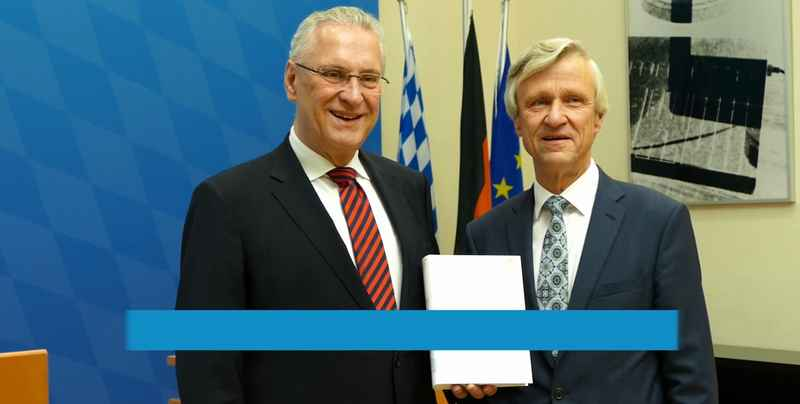 Joachim Herrmann und Thomas Gößl