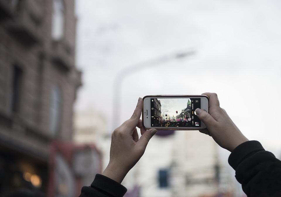 smartphone video-einstellung