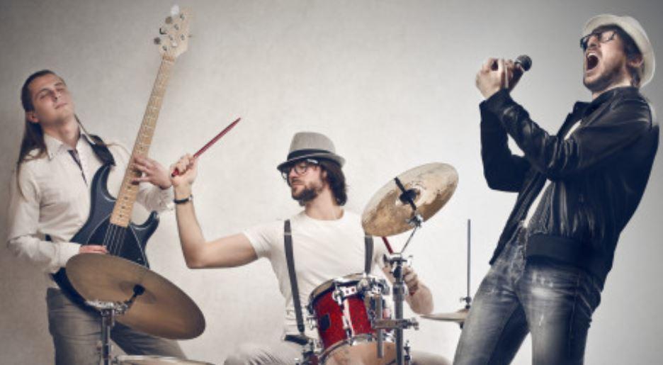 Musikvideo einer Rockband