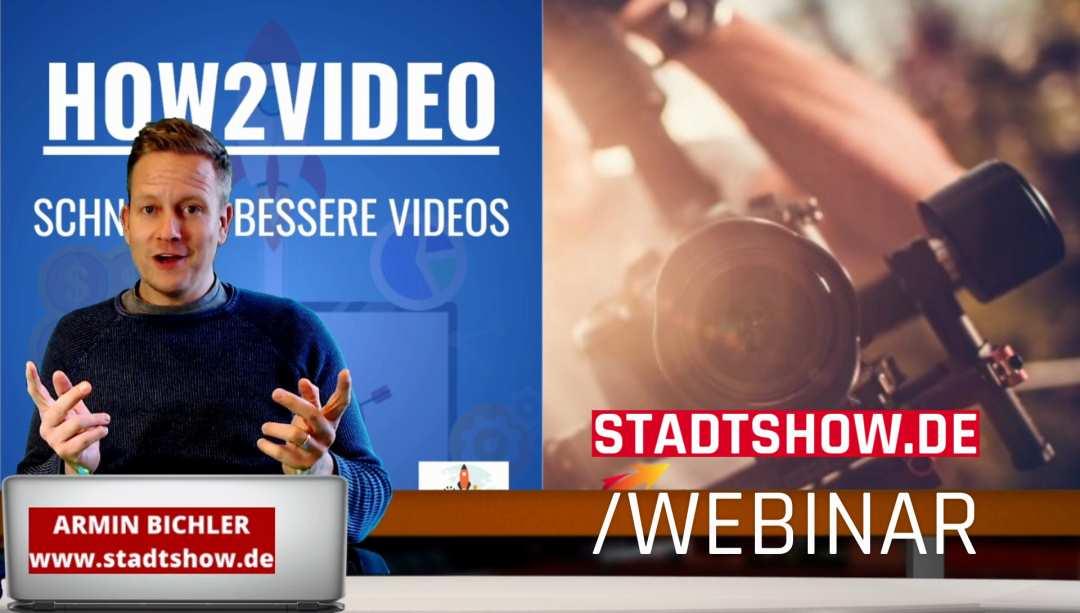 Videoproduktion Seminar - Online Webinar