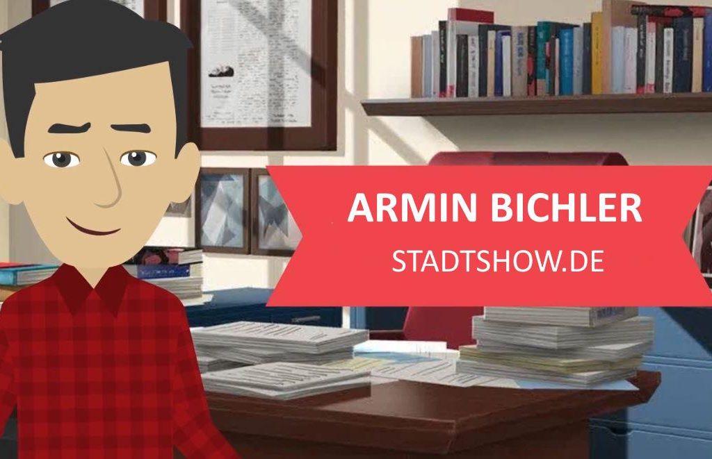 Armin Bichler - animiertes Erklärvideo von Stadtshow