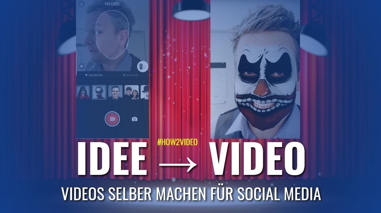 Videos selber machen social Media Marketing