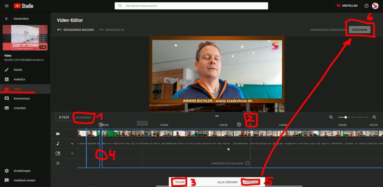 Youtube Video Online Schneiden Und Downloaden