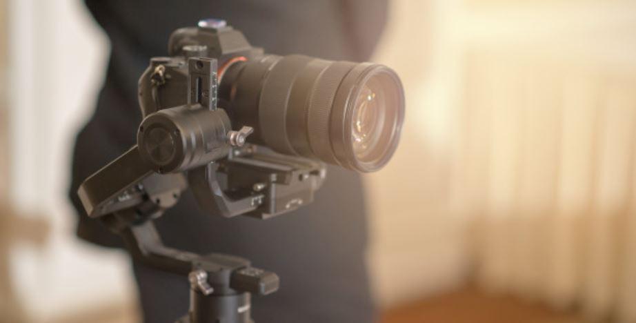 Firmenvideo Kamera mit Gimbal