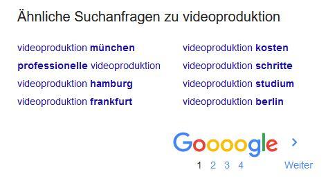 Youtube Kanal Tipps - Tags Google Suche