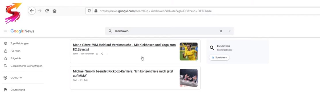 Google news götze