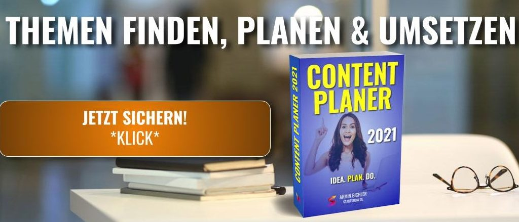 Content Marketing Strategie Planer 2021