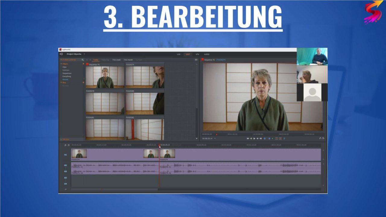 Online-Video-Training ▶️ Ich helfe dir bei deinem Video! 1