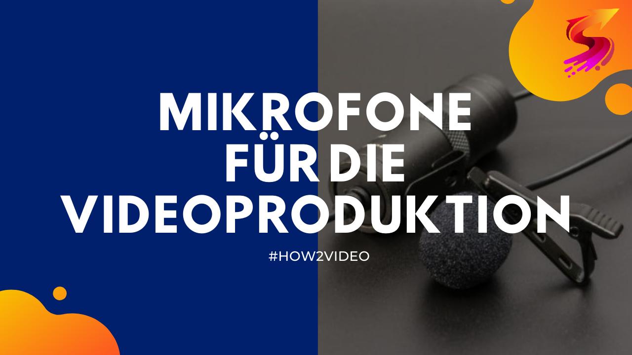 Mikrofone Videoproduktion