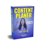Content Planer 2021 - 3D Cover