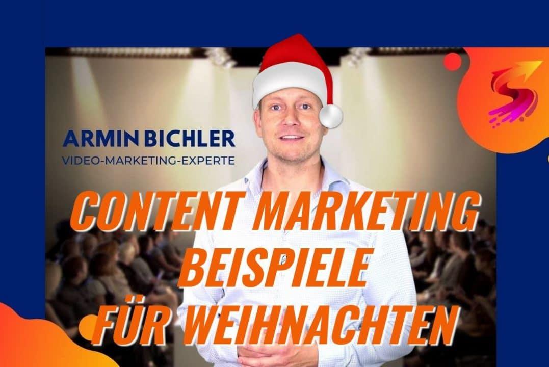 Content Marketing Beispiele Weihnachten 2020