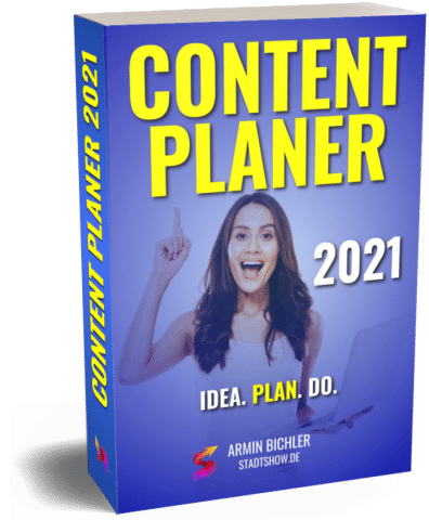 Content Marketing Planer 2021 3D