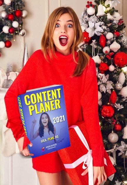 Content Planer Weihnachts Aktion