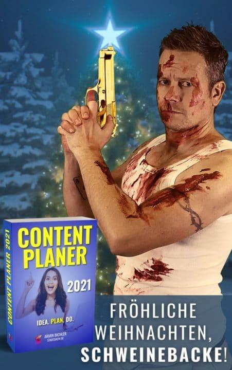 Content Marketing Beispiel - Weihnachtskarte