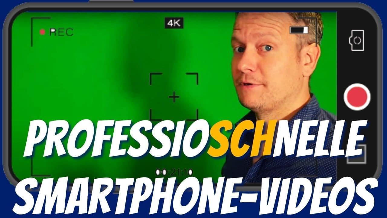 Smartphone-Video drehen