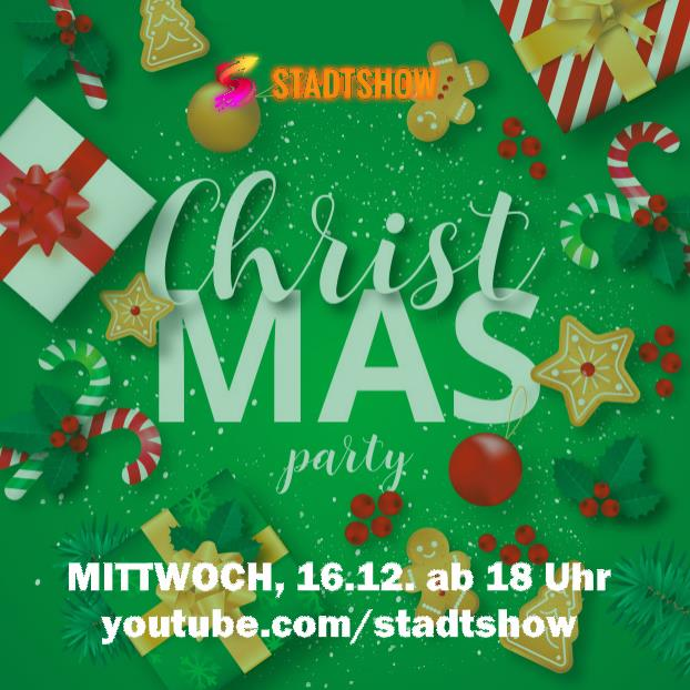 Stadtshow Weihnachtsparty Youtube Live-Stream