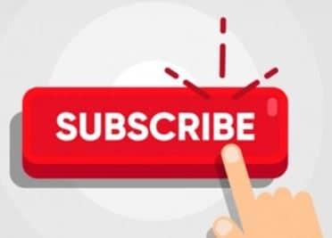 YouTube Kanal Button - Abonnieren