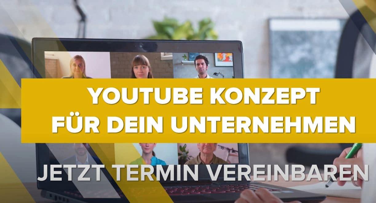 YouTube Konzept erstellen - Termin