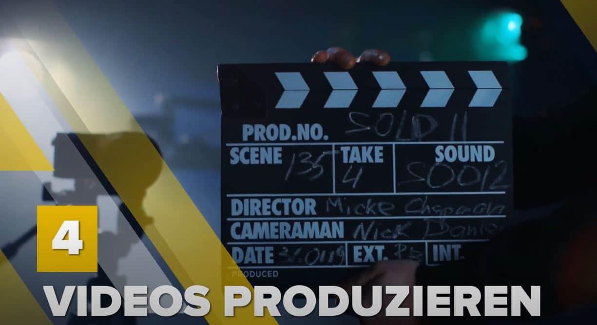 Videoproduktion für YouTube Kanal