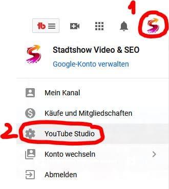 YouTube-Videos Musik verwenden