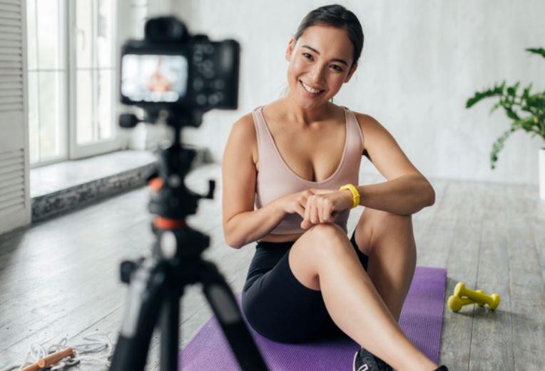 Video Tutorial für Fitness-Kurs