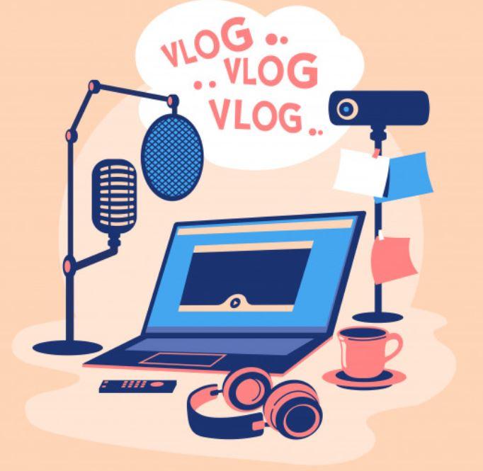 Youtube-Video Vlog