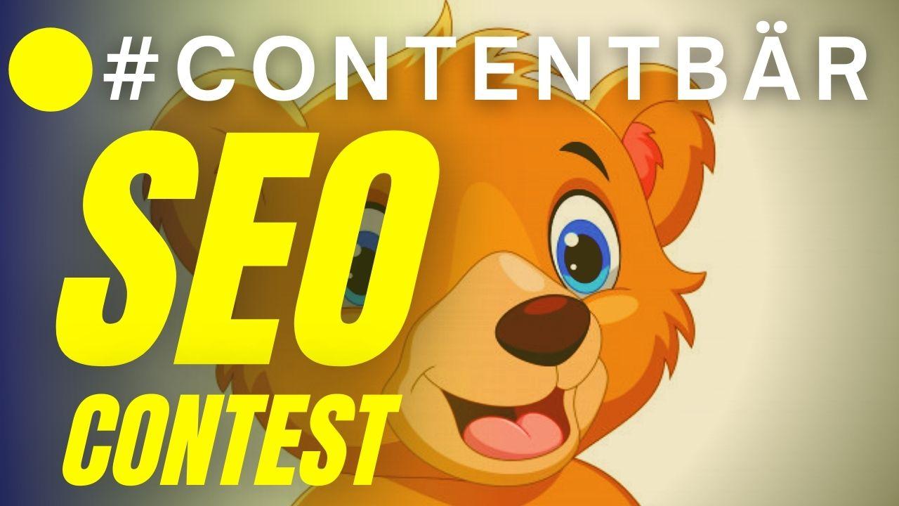 Contentbär - SEO-Contest 2021