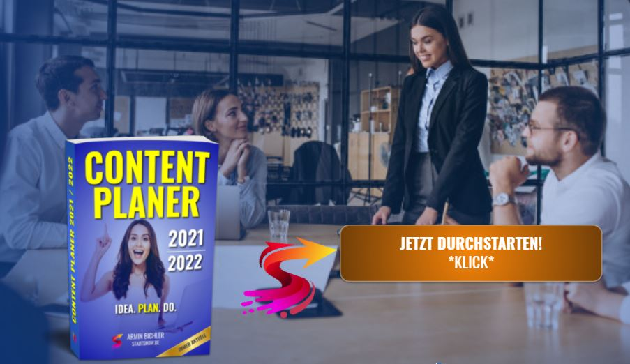 Content Kalender 2021/2022