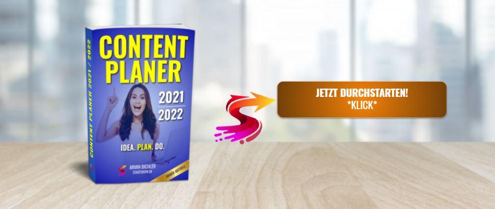 Content Planer - Redaktionsplan