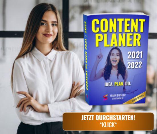 Meine 5 besten Content Ideen 2021 für verschiedene eigene Projekte. 1