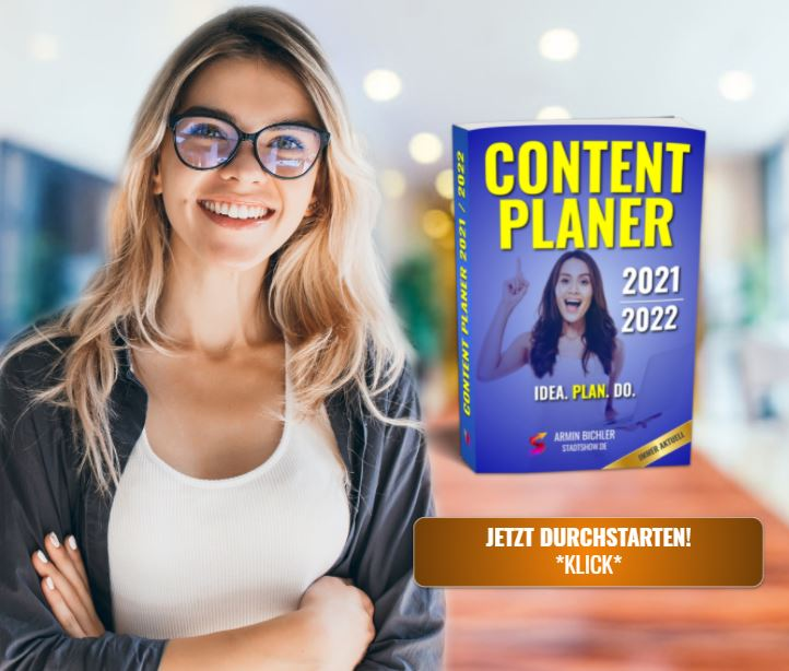 Content Kalender 2021/2022 - Online-Redaktion