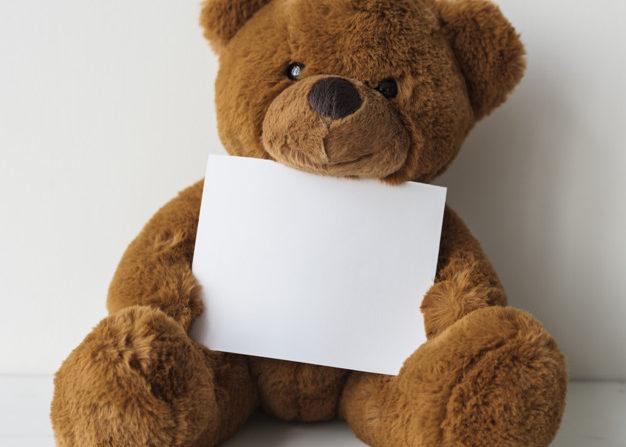 Teddycontentbär für Meinungsfreiheit