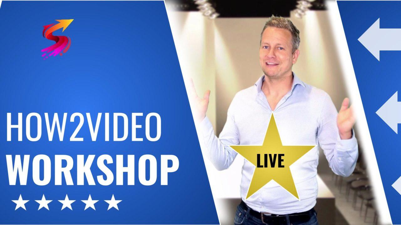 Video-Workshop How2Video: Live & Online-Kurs